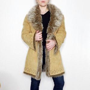 Vintage Y2K db Studio Penny Lane Leather Jacket